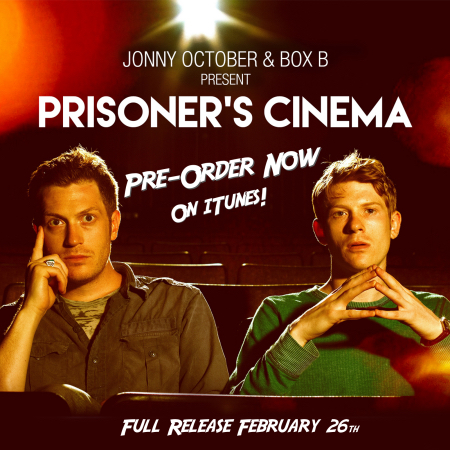 Prisoner's Cinema Cover Pre-Order